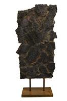 bronze déchiré polychrome by bernard bezzina