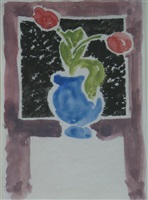 still life design by vanessa bell
