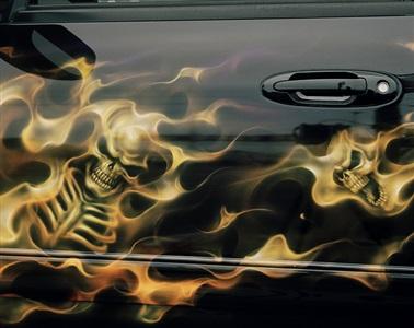 spray fire custom by justine kurland