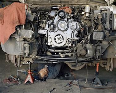 rebuilt engine by justine kurland