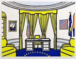 oval office by roy lichtenstein