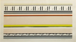 entablature viii by roy lichtenstein