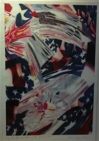 stars & stripes at the speed of light by james rosenquist