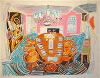 tyler dining room by david hockney