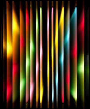 vertical lines #3 by chul hyun ahn