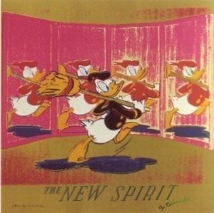 ads portfolio: the new spirit (donald duck) by andy warhol