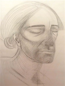 head of christ by elisabeth frink