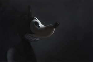 gray mouse #3 by gottfried helnwein