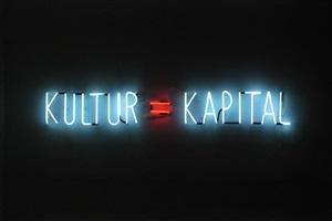 kultur = kapital by alfredo jaar