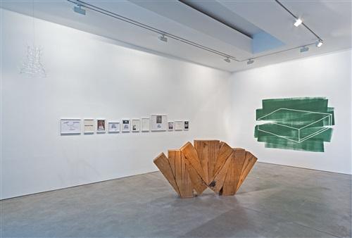 installationsansicht: der kubist marcel duchamp mag nicht malen