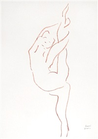 danseuse acrobate by henri matisse