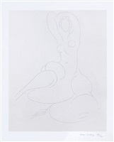 nu pour cleveland (nude for cleveland) by henri matisse