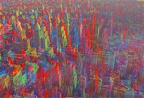 midtown skyline by mitchell funk