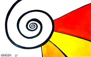le grande spirale by alexander calder