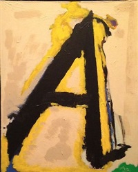 the little a by robert motherwell