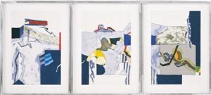 triptychon 'etwas indiskret' by werner berges
