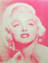 marilyn goddess by russell young