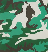 camouflage (fs ii.406) by andy warhol