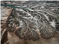 colorado river delta nr.1, san felipe, baja, mexico by edward burtynsky