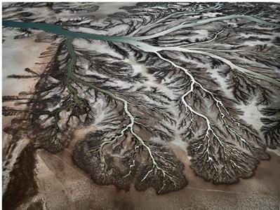 colorado river delta nr.1, san felipe, baja, mexico by edward burtynsky
