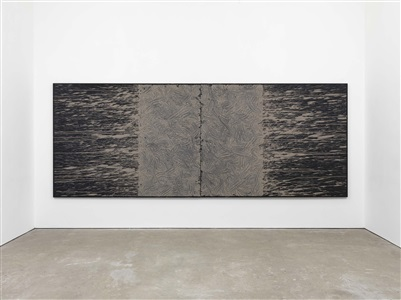 expo chicago, the international exposition of contemporary modern art by richard long