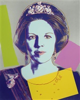 queen beatrix of the netherlands royal edition (fs ii.340) by andy warhol