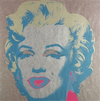 marilyn (pink) (fs ii.26) by andy warhol