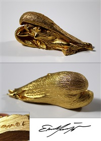 schutzengel - gold by ernst fuchs
