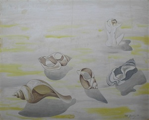 by the sea by john banting