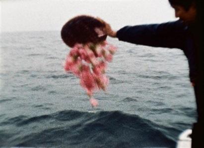sea and flowers by shimabuku