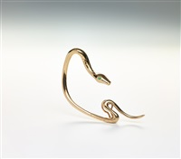 snake ear cuff by meret oppenheim