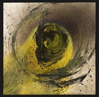 yellow vortex by otto piene