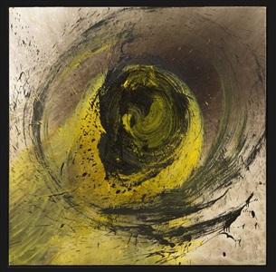 yellow vortex by otto piene