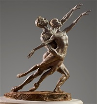 pas de deux elegance by richard macdonald