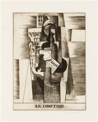 le comptoir by louis marcoussis