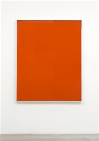 untitled (orange monochrome) by phil chang