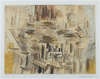 hommage à j. s. bach by georges braque