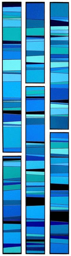 green in blue (sextet) by ian johnson
