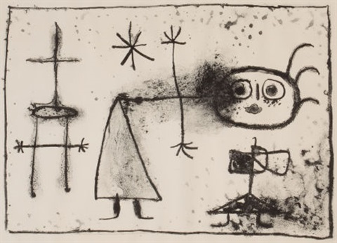 young gin by joan miró