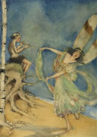 fairy dancing by frances barrett comstock