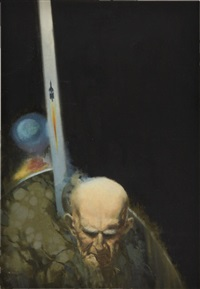 the changeling, paperback cover by jack faragasso