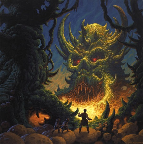 demon swamp by tim hildebrandt