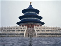 hiding in the city- temple of heaven by liu bolin