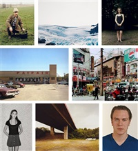 how you look at it (portfolio of 8 works) by andreas gursky, axel hutte, thomas struth and thomas ruff