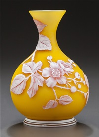 buttercup vase by thomas webb and sons (co.)