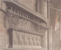 untitled (cathedral detail) by frederick henry evans