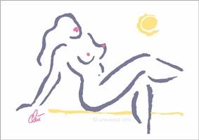 hot girl - pastell by jacqueline ditt