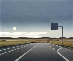 sommernacht (autobahn) by jan schüler