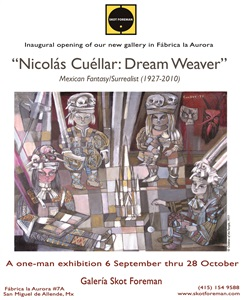nicolas cuellar dream weaver poster