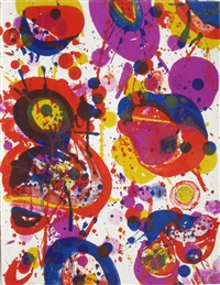 pasadena box #1 by sam francis